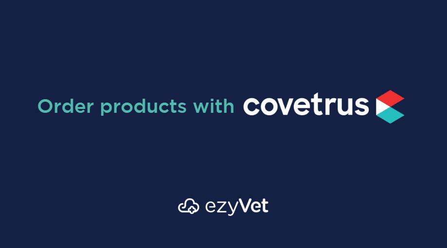 ezyVet integrates with Covetrus