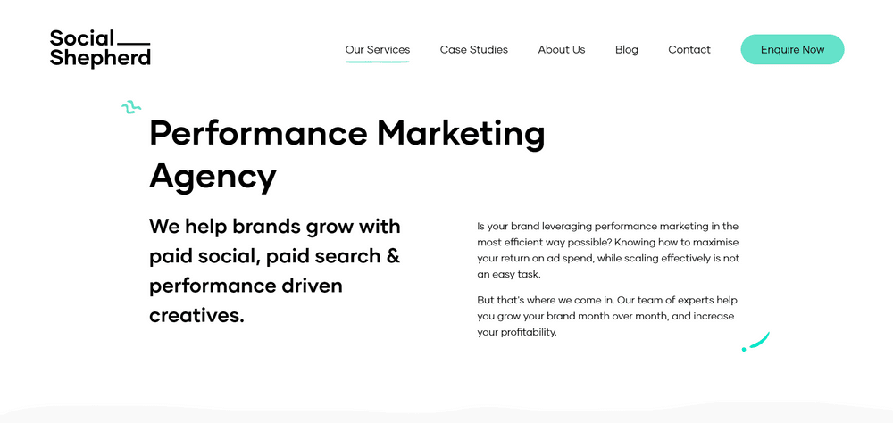 Top Performance Marketing Agency for eCommerce Brands