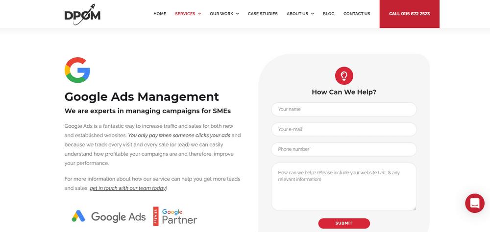 Top Google Ads Agencies for B2B Brands