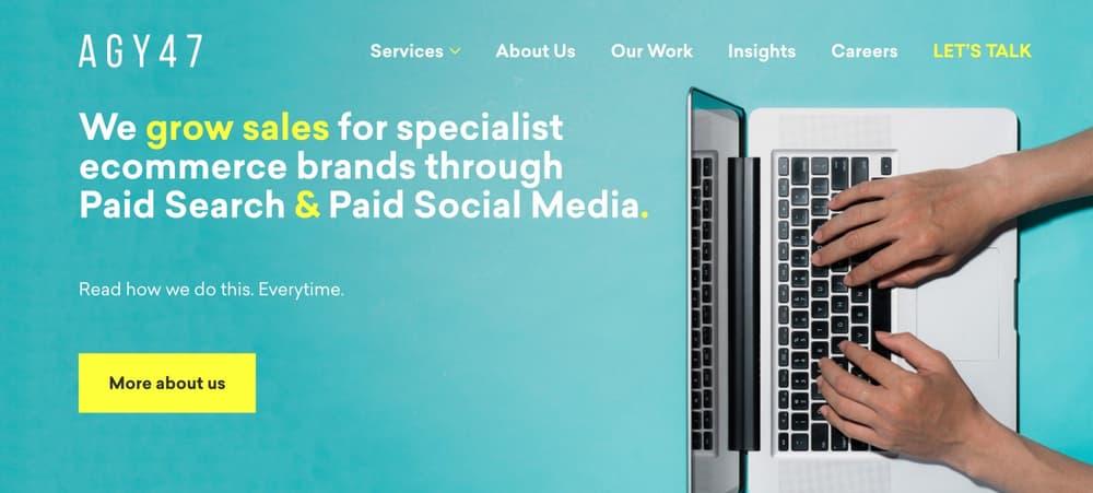 AGY 47 Paid Media Agency in Newcastle