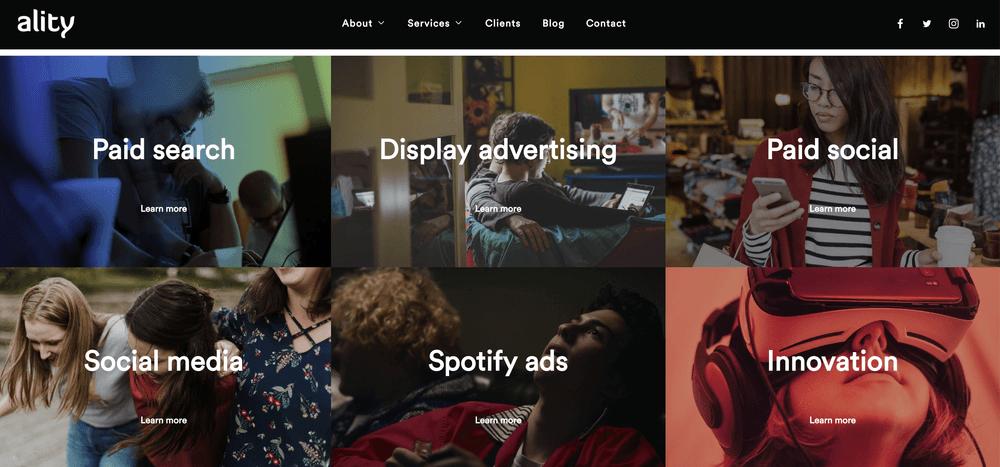 Ality - Paid Media Agency for Enterprise Brands