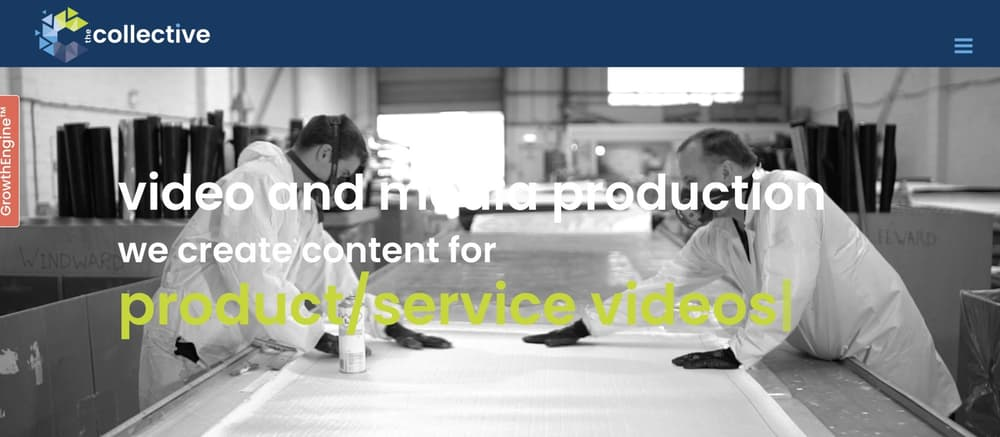 B2B Corporate Video Marketing Agency - The Collective