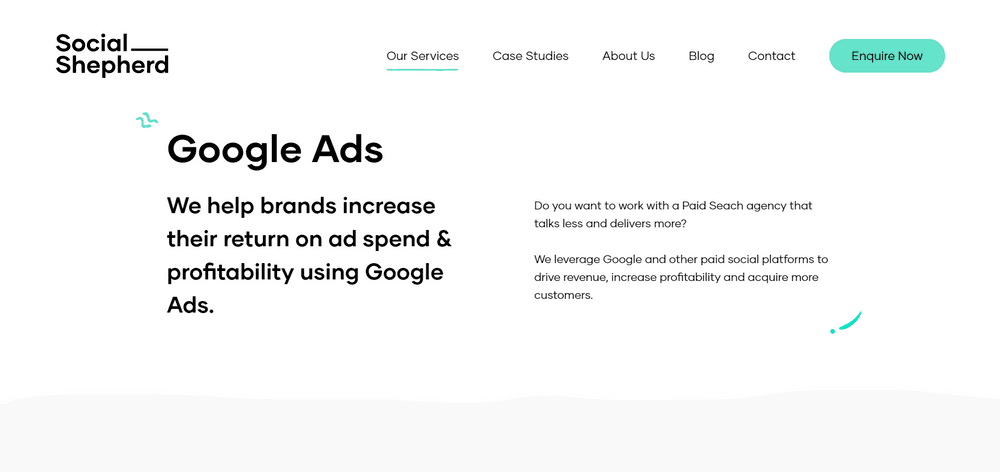 Top Google Ads Agency for eCommerce Brands