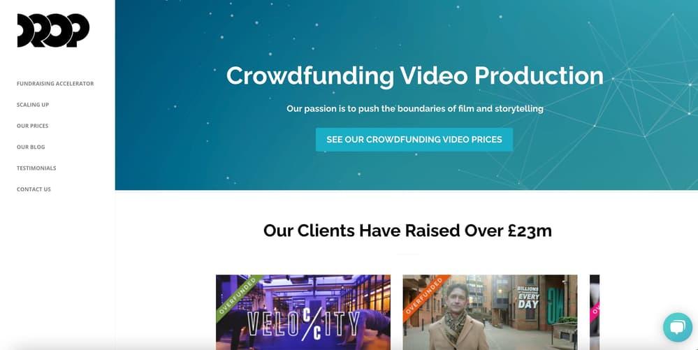 Video Marketing Agency for Startups - Drop Studio