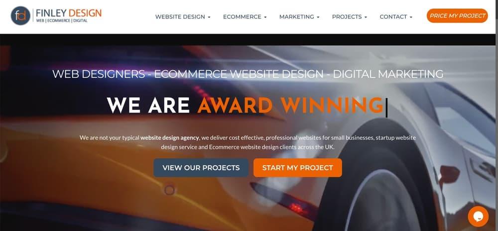 eCommerce experts in web design & marketing - Finley Design