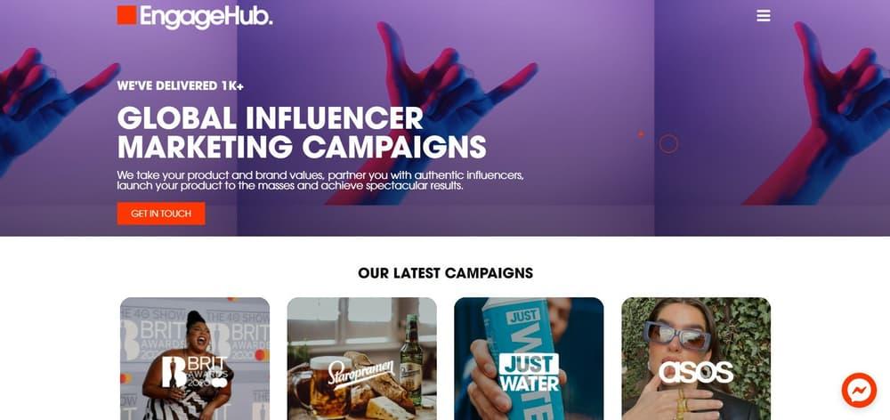 Engagehub - TikTok Influencer Content Agency UK