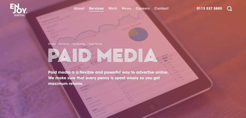 Enjoy Digital - Leeds Paid Media Agency