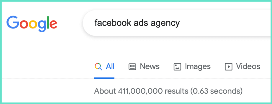Facebook Ads Agency search