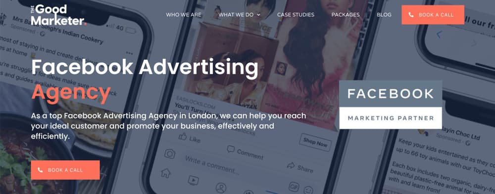 Facebook Ads Agency in London - The Good Marketer