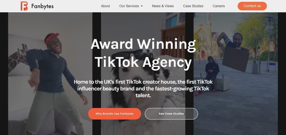 Fanbytes - TikTok Agency London