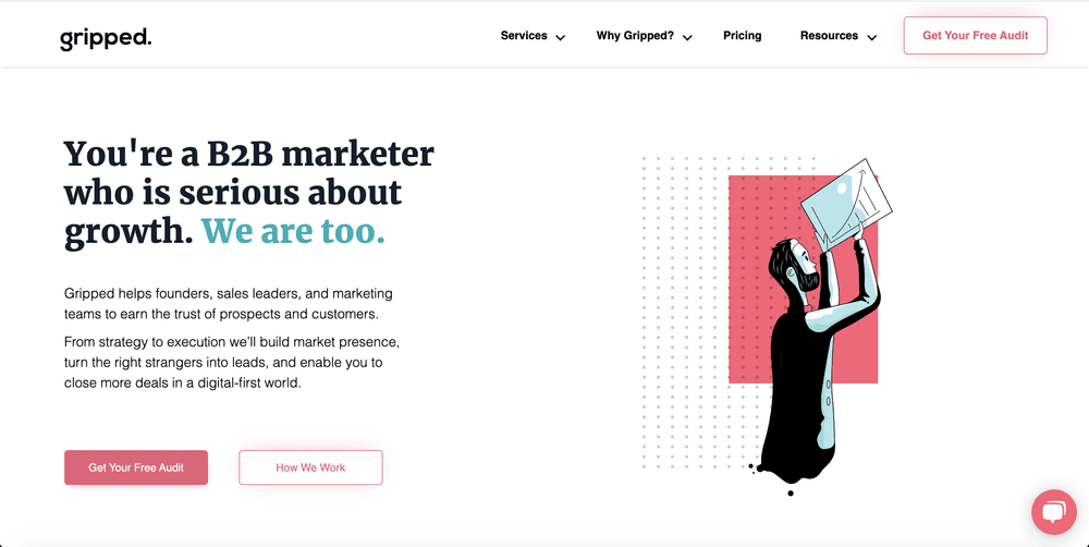 Gripped - Best B2B Social Agency for Tech & SaaS Businesses