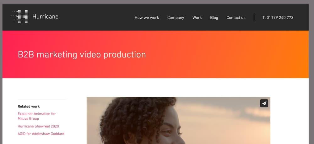 Hurricane Media - B2B Video Marketing Company