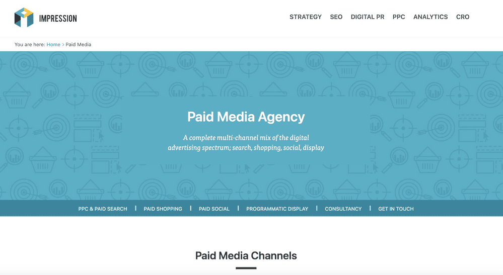 Impression - Paid Media Agency London & Nottingham