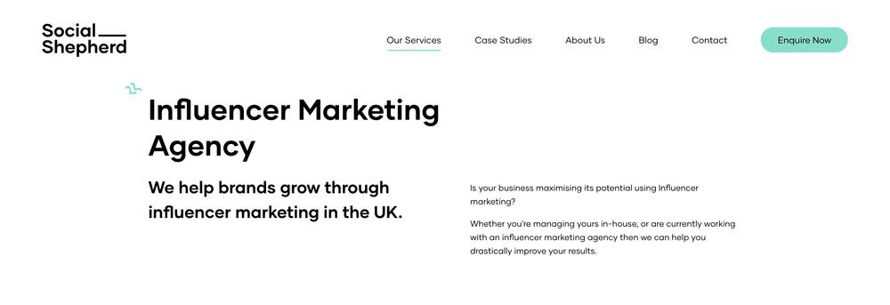 Influencer Marketing Agency UK