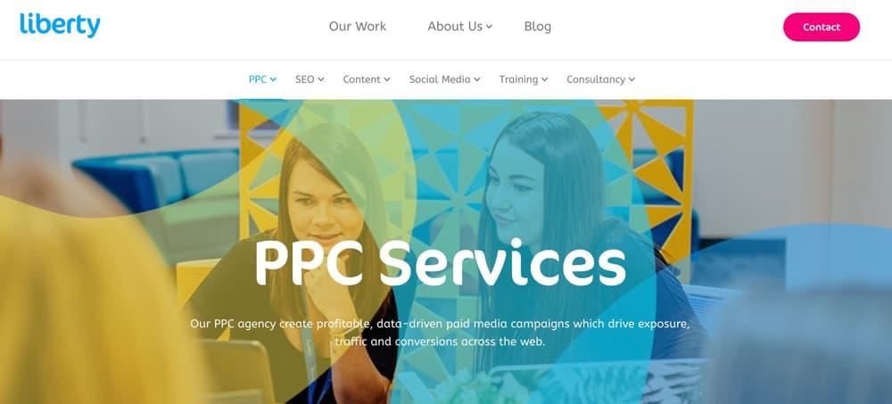 Liberty Marketing - Cardiff Paid Media Agency