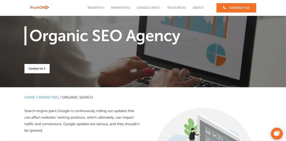 Magento SEO Agency - PushON