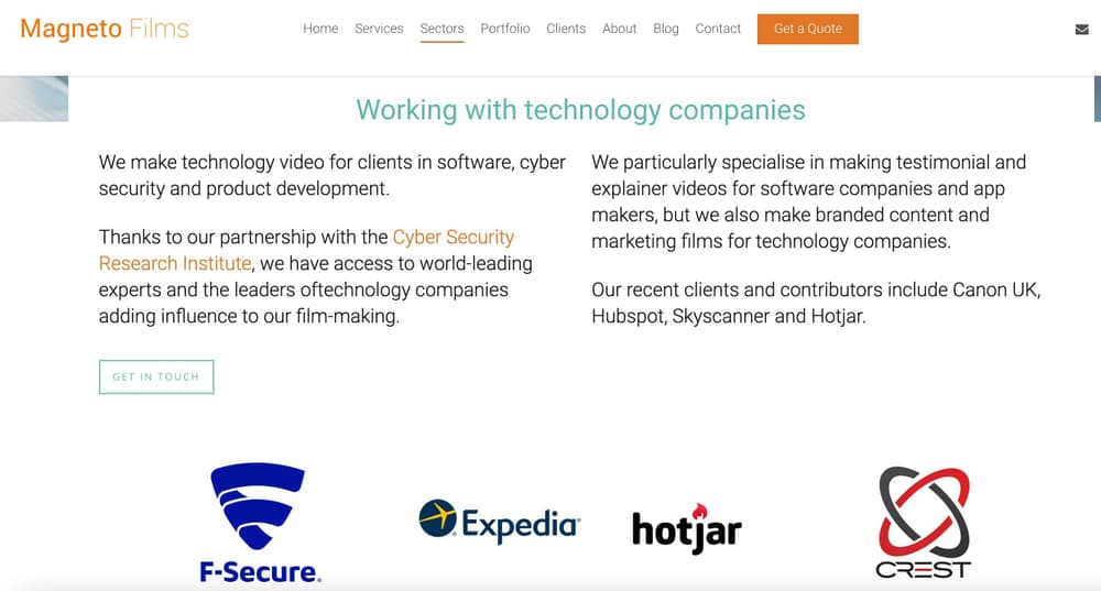 Magneto Films - Video Agency for SaaS & Technology