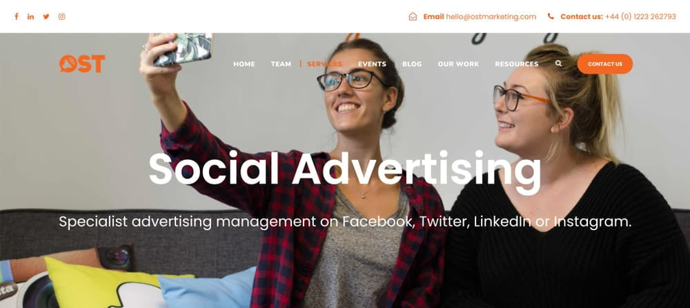 OST Marketing - Facebook Ads Agency for B2B