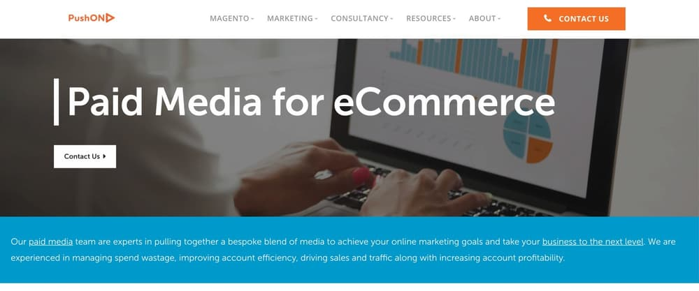 PushON - Paid Media Agency for eCommerce