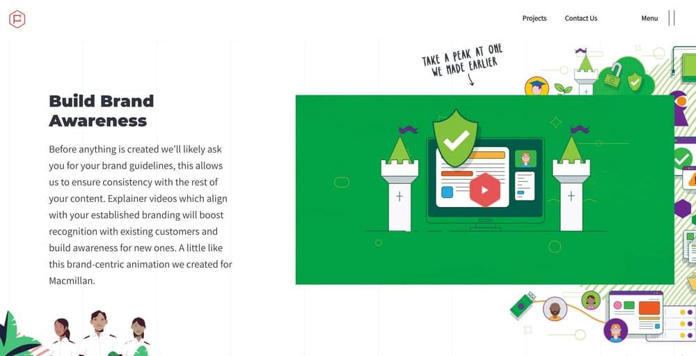 SaaS & technology Animated Explainer Video Marketing - Posh Gecko