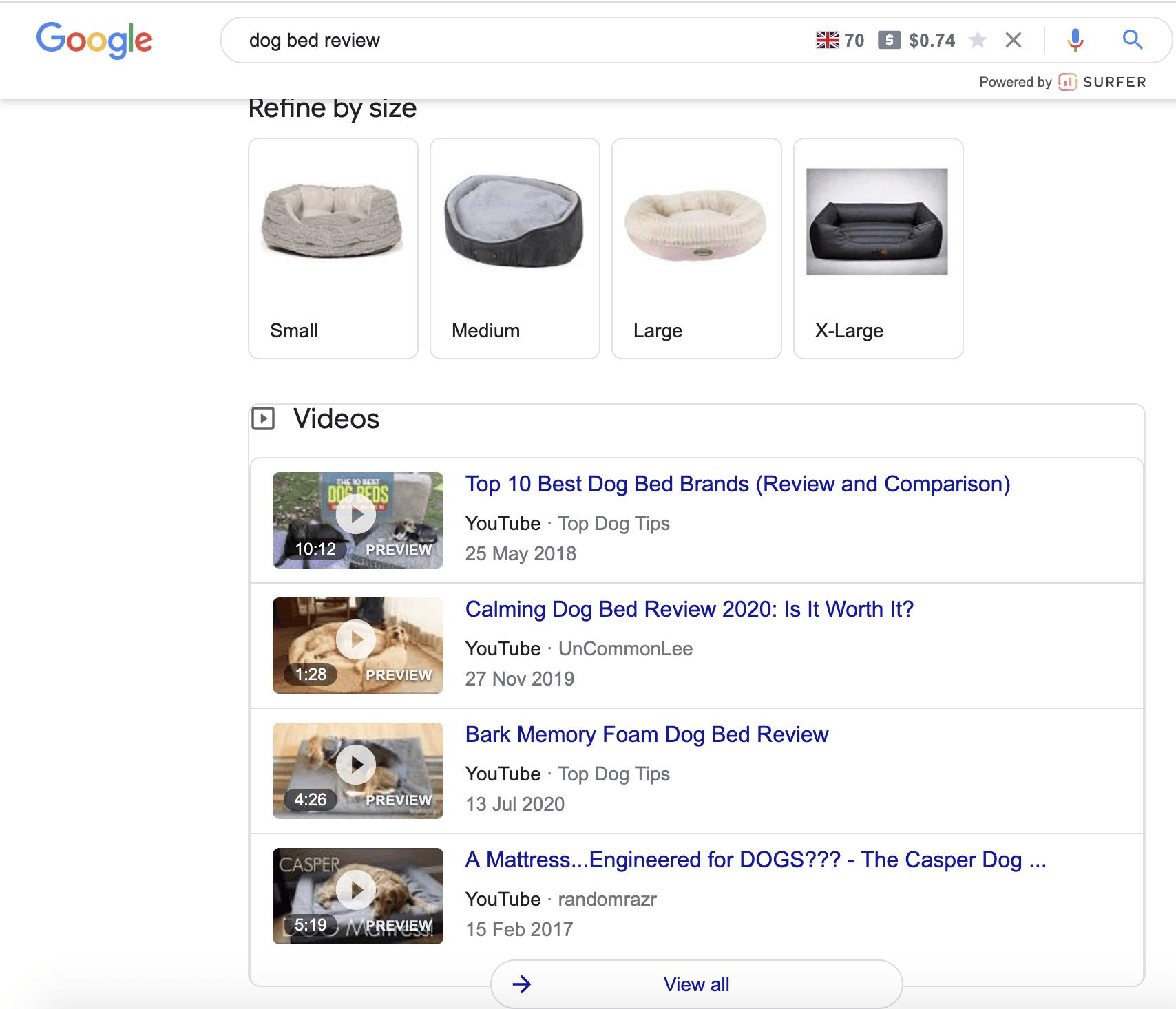 google-video-ranking