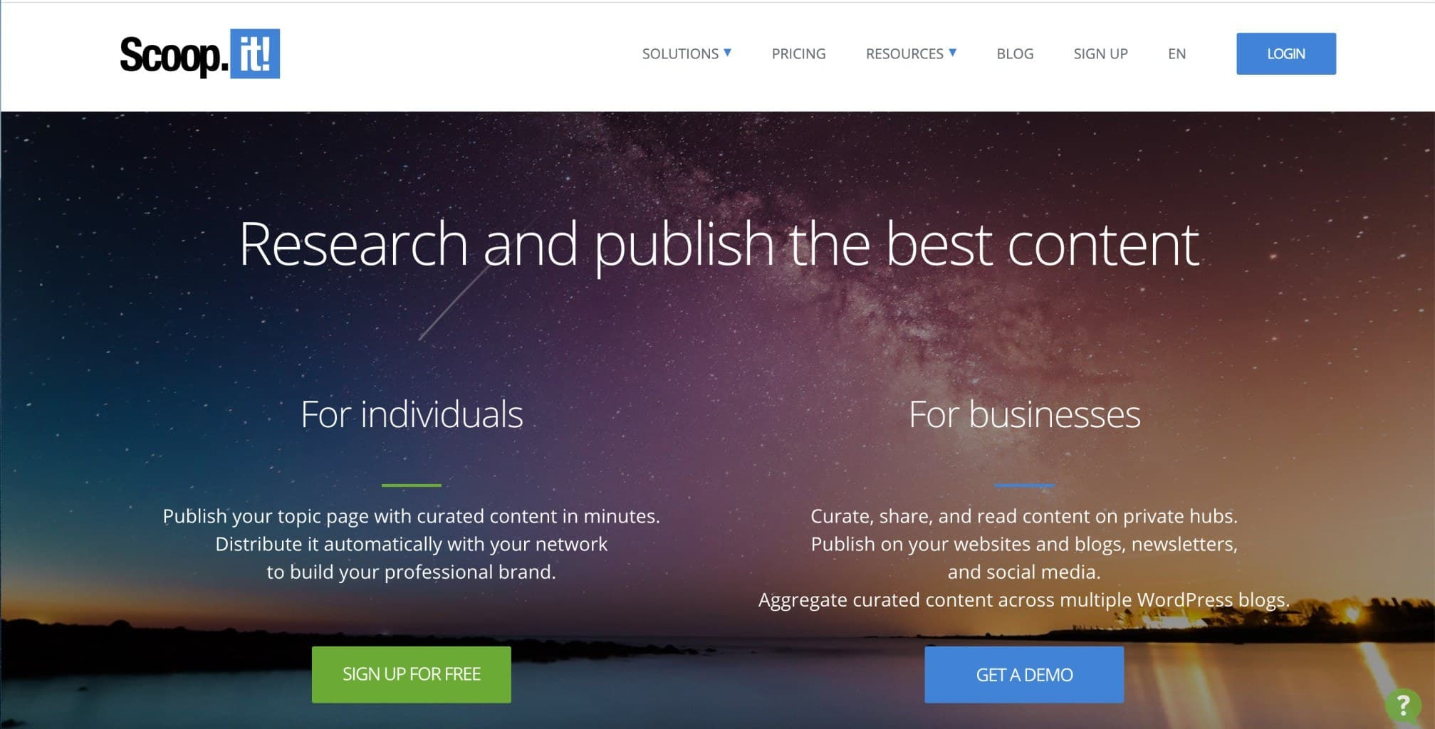 Scoop.It - Content Curation Tool For Social Media