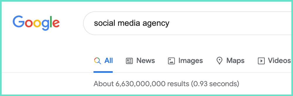 Searching for Social Media Agency