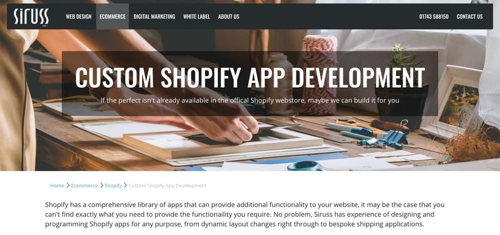 Siruss Shopify App Developers