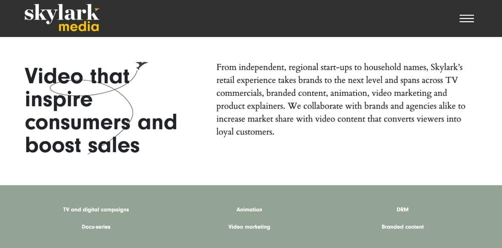 Skylark Media - Video Marketing Agency for Small Businesses & Startups