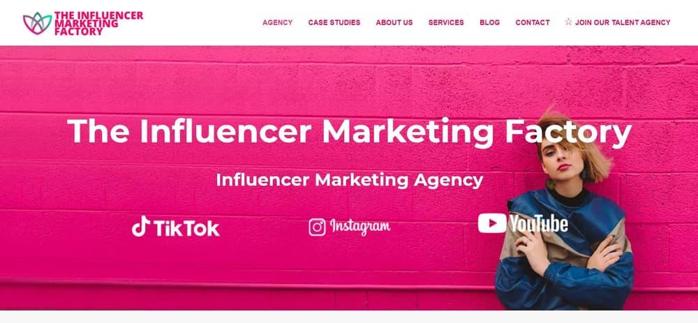 The Influencer Marketing Factory - TikTok Agency UK