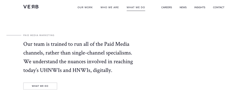 Verb - Paid Media Agency from London