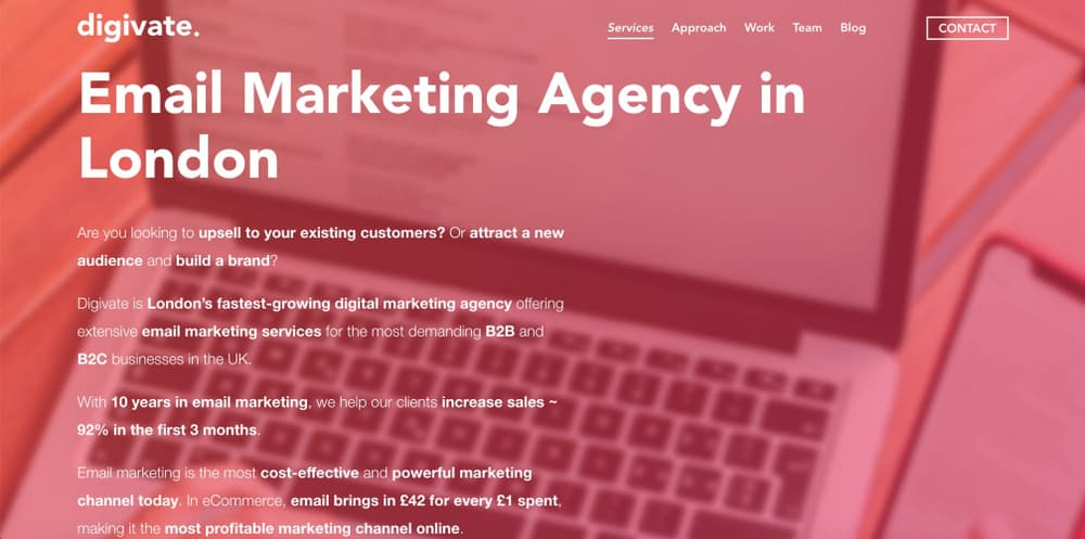 eCommerce Email Marketing Agency London - Digivate