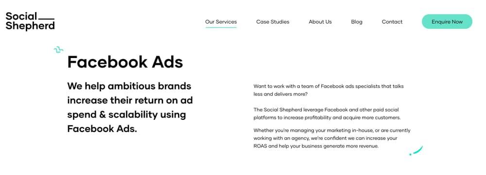 eCommerce Facebook Ads Agency - The Social Shepherd