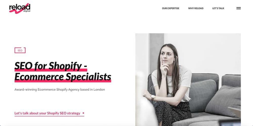 eCommerce SEO Agency London - Reload Digital