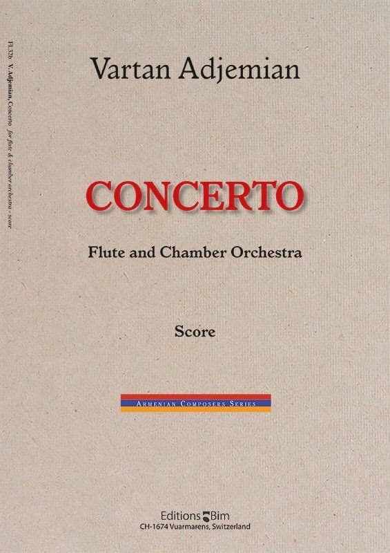 Vartan Adjemian, Concerto for flute and chamber orchestra