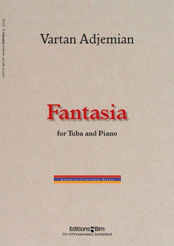 Vartan Adjemian, Fantasia for tuba and piano