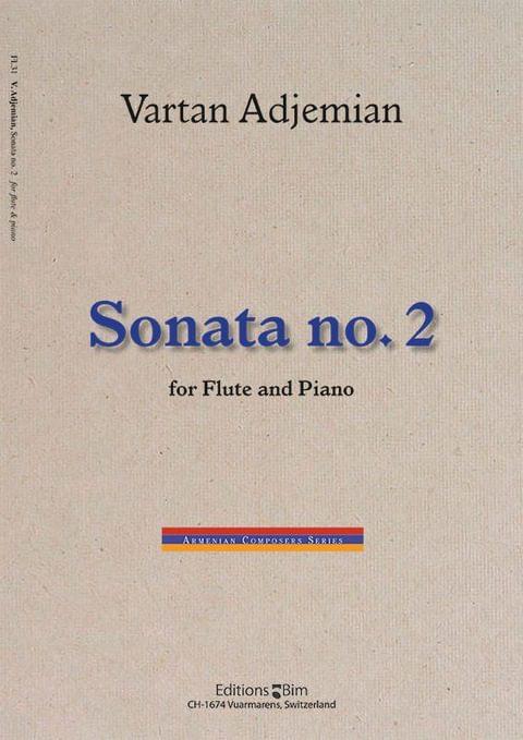 Vartan Adjemian, Sonata no. 2 for flute and piano