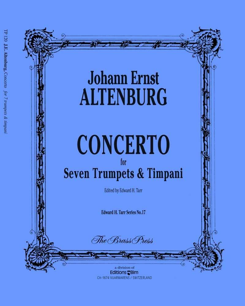 Altenburg Johann Ernst Concerto Tp120