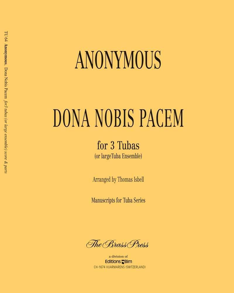 Anonymous Dona Nobis Pacem Tu64