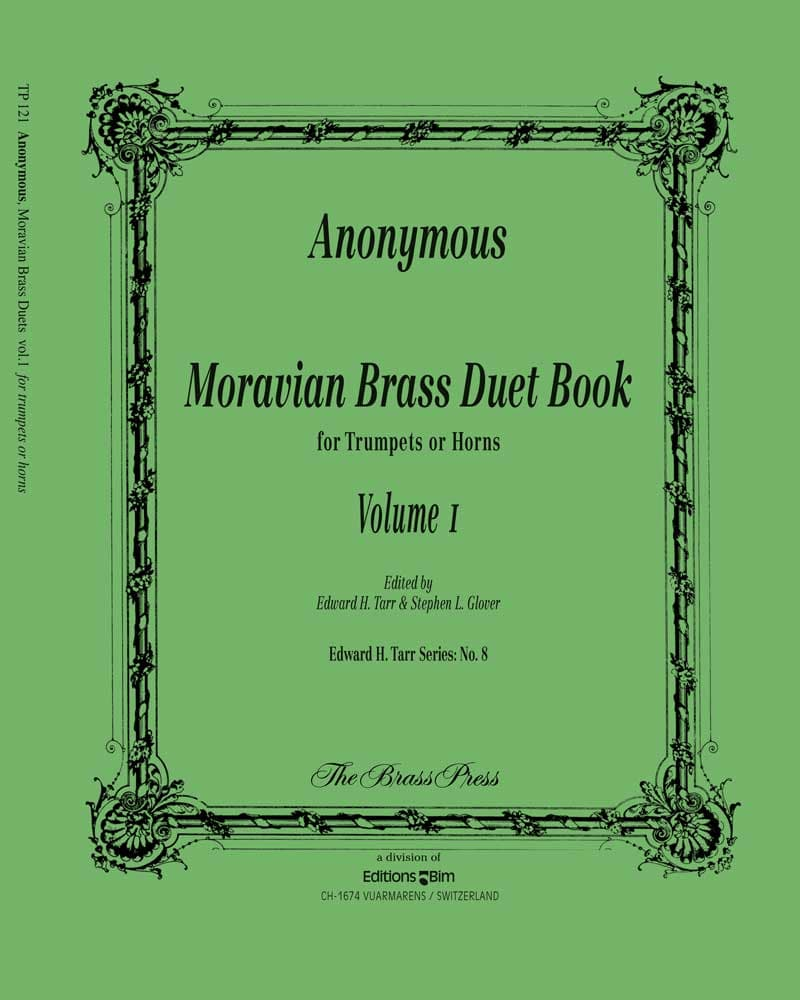 Anonymous Moravian Duets Vol1 Tp121