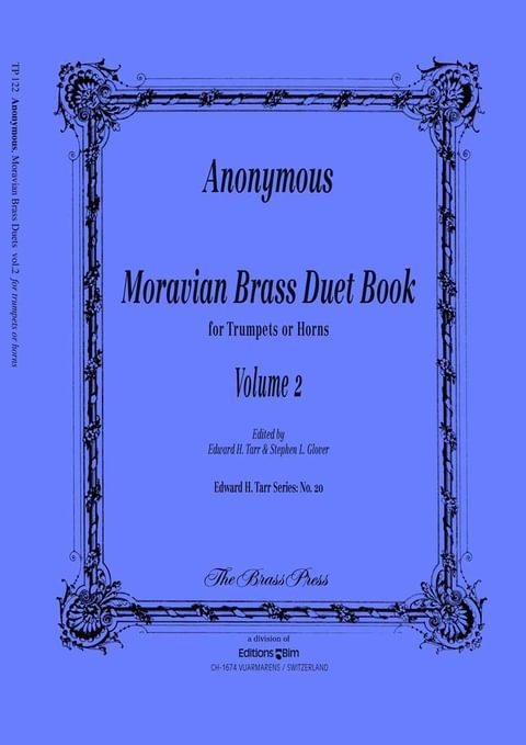 Anonymous Moravian Duets Vol2 Tp122