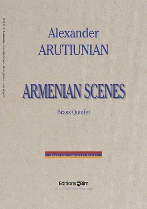 Arutiunian Alexander Armenian Scenes Ens23