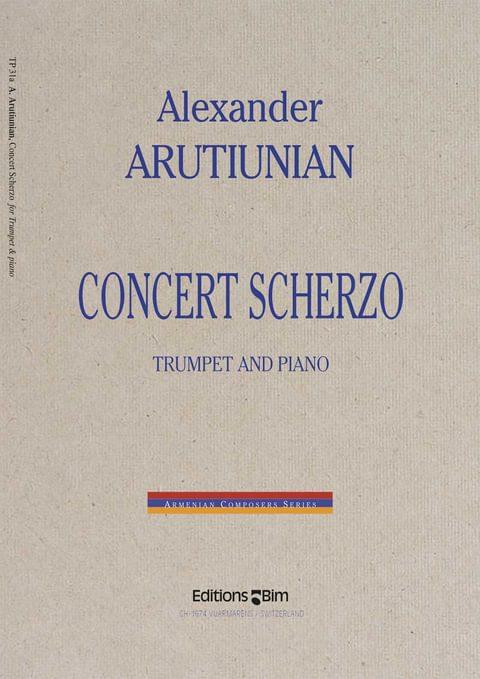 Arutiunian Alexander Concert Scherzo Tp31