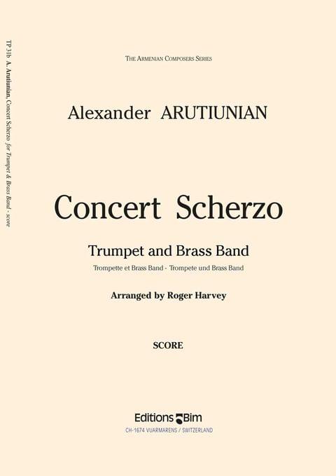 Arutiunian Alexander Concert Scherzo Tp31B
