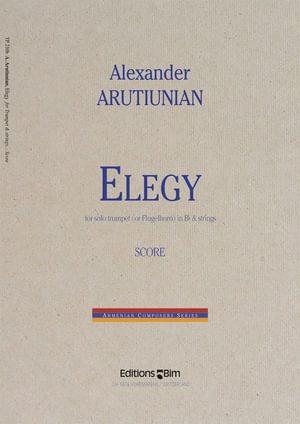 Arutiunian Alexander Elegy Tp210
