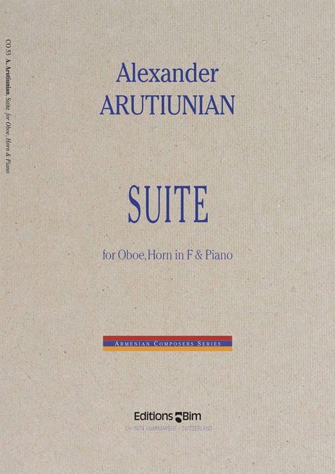 Arutiunian Alexander Suite Co53
