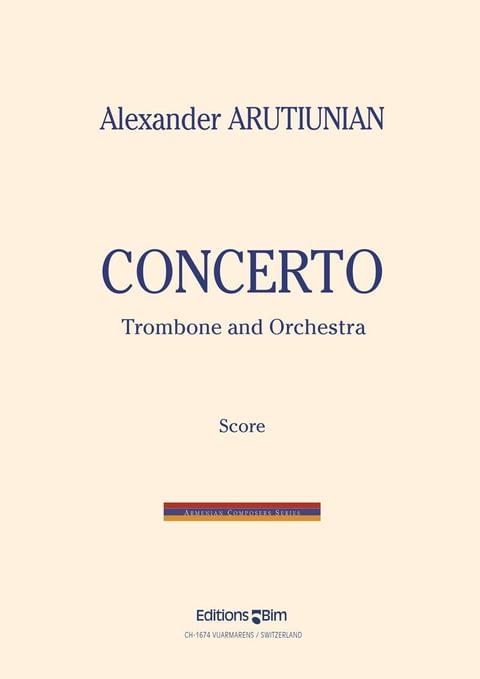 Arutiunian Alexander Trombone Concerto Tb11