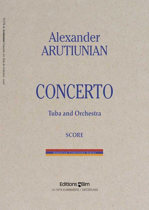 Arutiunian Alexander Tuba Concerto Tu27