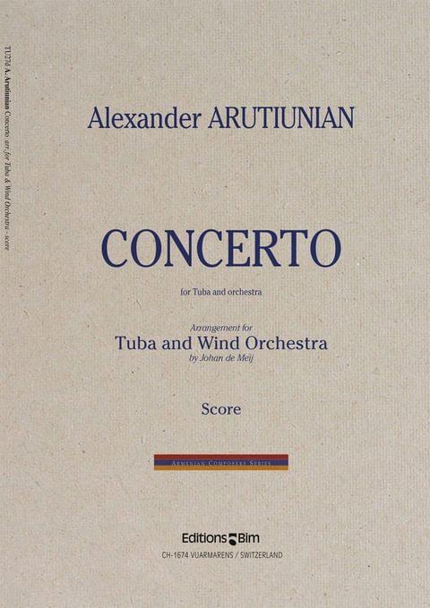 Arutiunian Alexander Tuba Concerto Tu27D