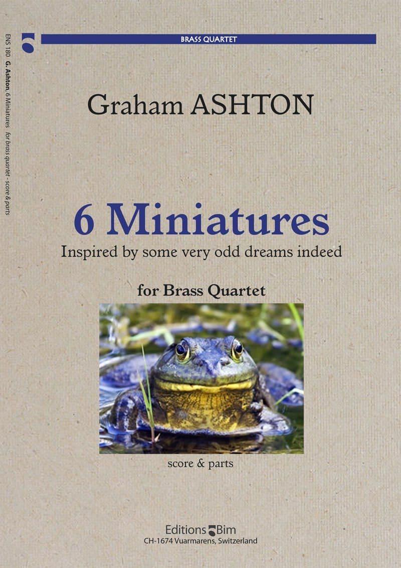 Ashton Graham 6 Miniatures Ens180
